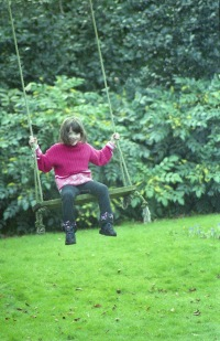 Flo on swing 2002 2