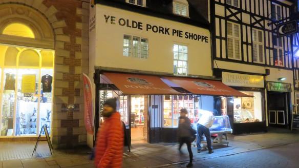 Ye Olde Pork Pie Shoppie