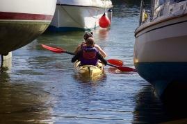 Kayakking