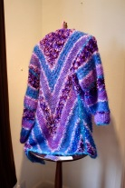 First Gallery Christmas Show 2017 12 Lynn Hudson knitted jacket