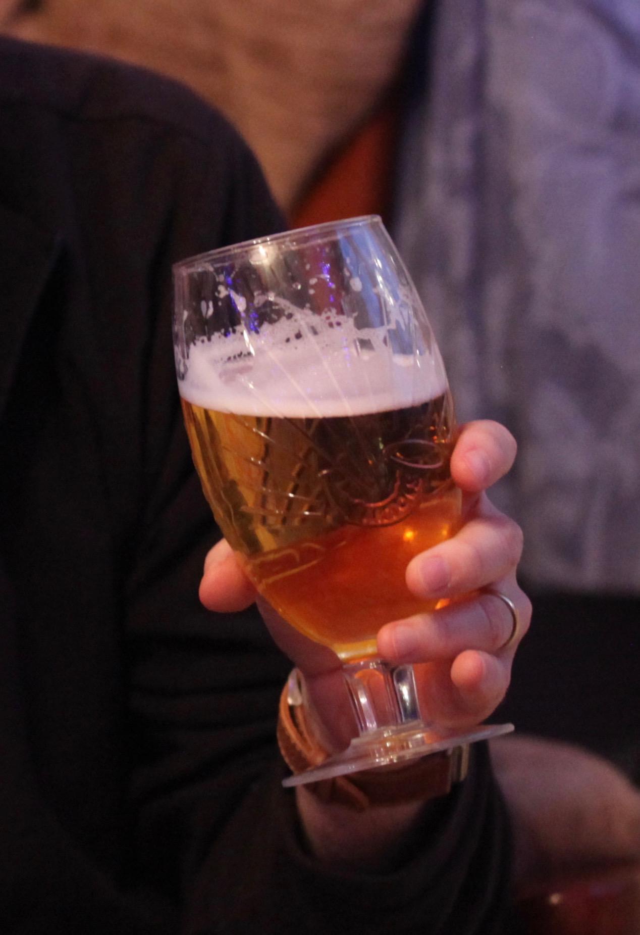 Beer glass 1