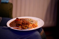 Plate of curry and stew (Flo)
