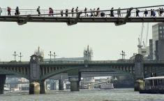(Wobbly) Millennium Bridge 1