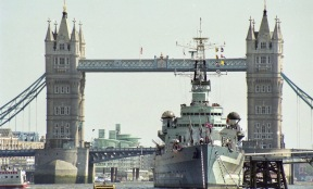 Tower Bridge and H.M.S. Belfast 1