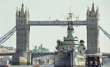Tower Bridge and H.M.S. Belfast 1