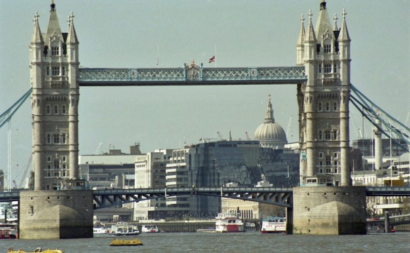 Tower of London and St Paul's