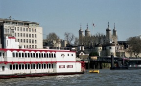 Tower of London and Dixie Queen 1