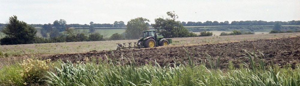 Tractor ploughing 1 7.03