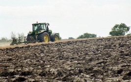 Tractor ploughing 2 7.03