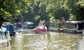 Sam and James at Braunston 7.03