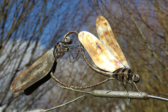 Dragonfly sculpture 1