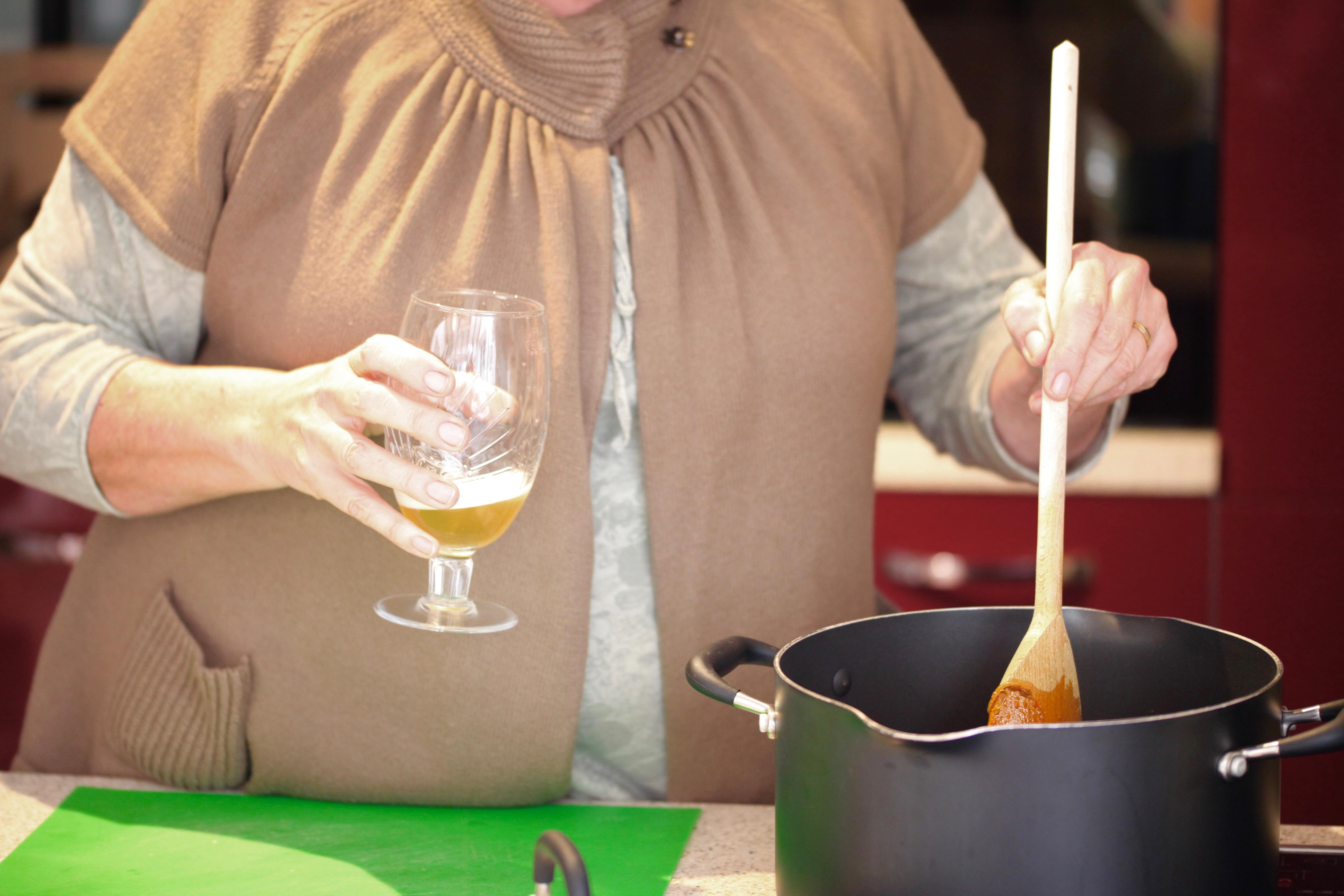 Jackie cooking 1