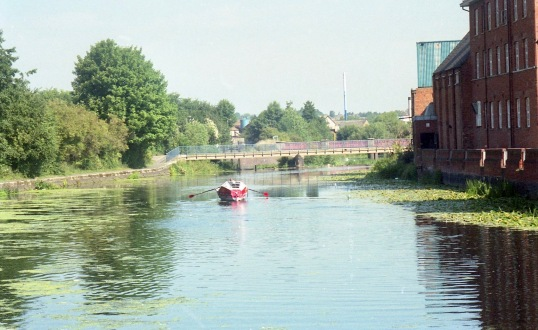 Pacific Pete on River Soar