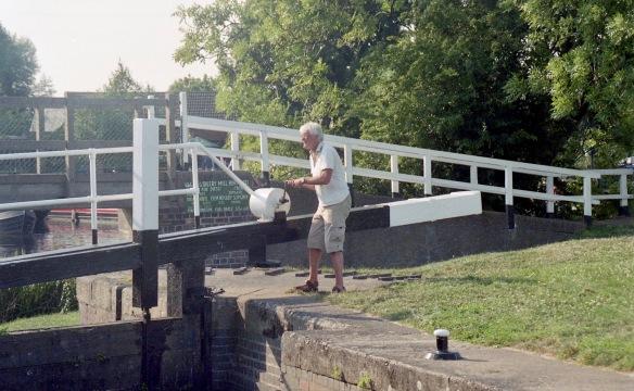 Derrick working lock