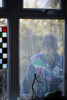 Aaron cleaning windows 5