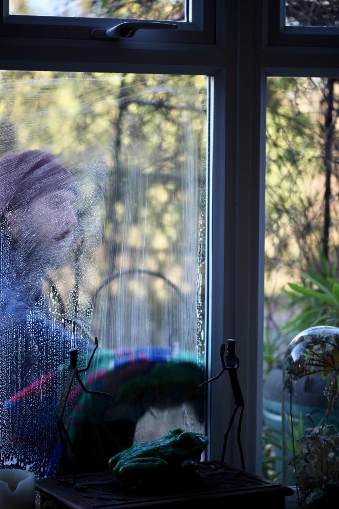 Aaron cleaning windows 6