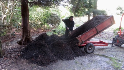 Mulch delivery