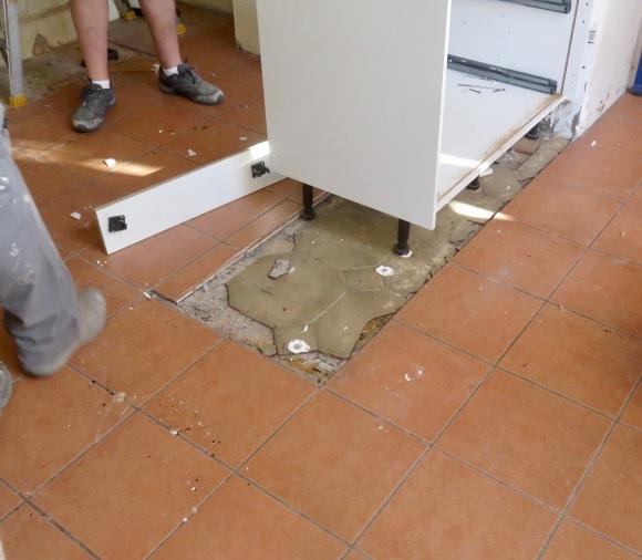 Tiles under tiles