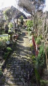 Brick path