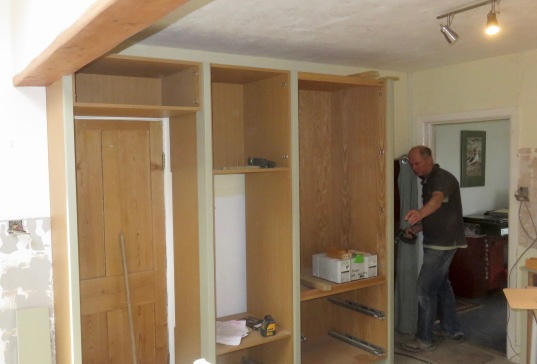 Richard and cupboards