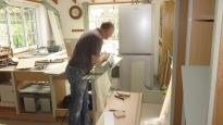 Richard shaping shelves