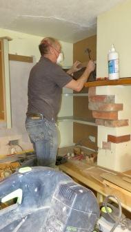 Richard fitting shelves