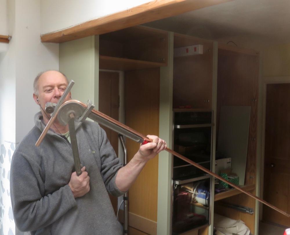 Richard bending pipe
