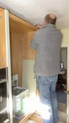 Richard wiring cupboard lighting