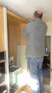 Richard wiring cupboard lighting