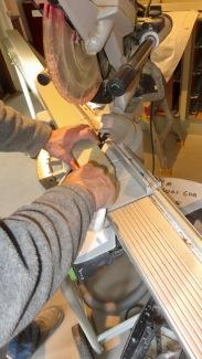 Richard cutting trim