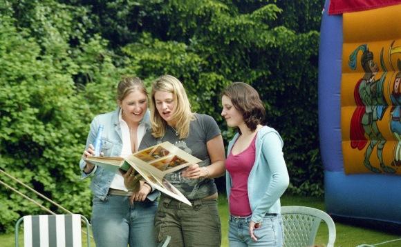 Louisa, Sarah Jane, and Lisa
