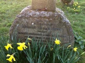 Conan Doyle gravestone