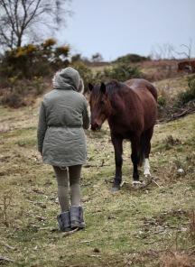Flo and pony