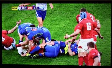 Wales v France rugby
