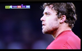 Wales v France rugby Leigh Halfpenny