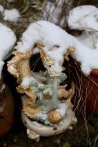 Dragon with snow cap