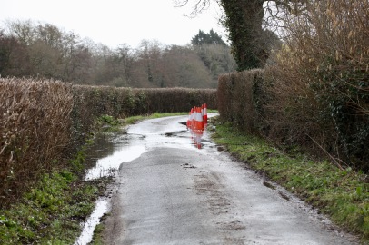 Barrows Lane, cones