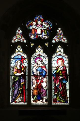 West Window, Church of St John the Baptist