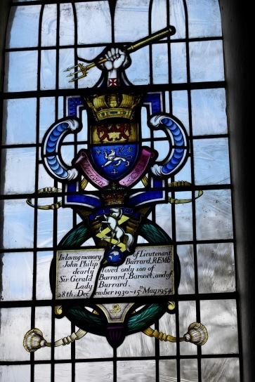 Burrard memorial window