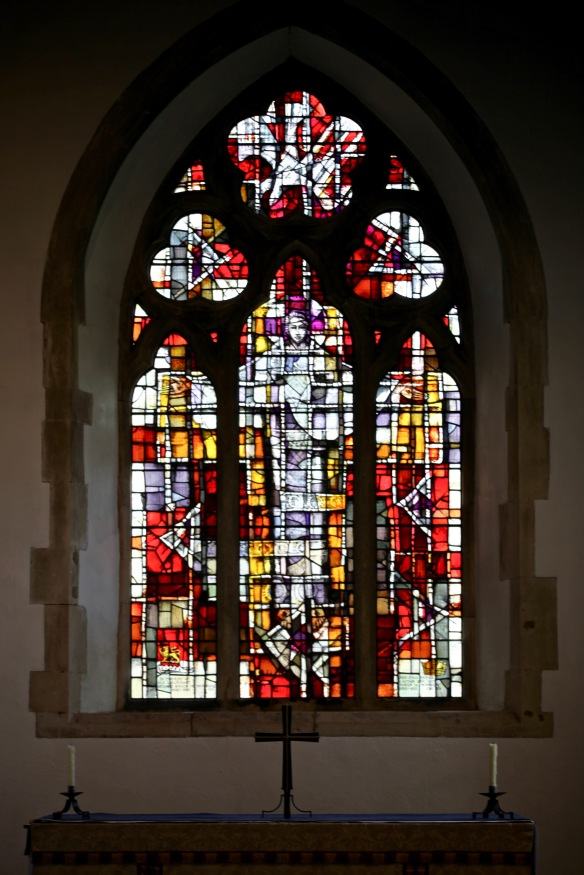 East Window, St John the Baptist Church, Boldre