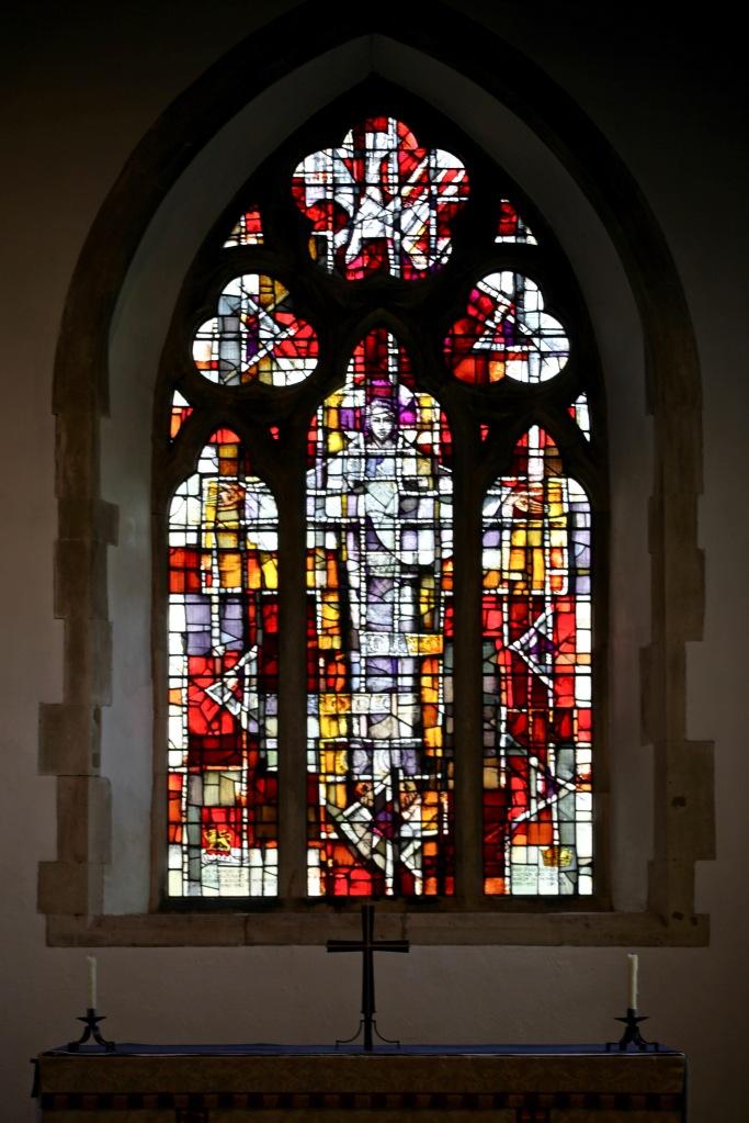 East Window, St John the Baptist Church, Boldre