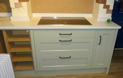 Hobs and cupboards