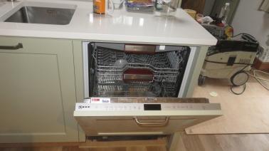 Dishwasher open door