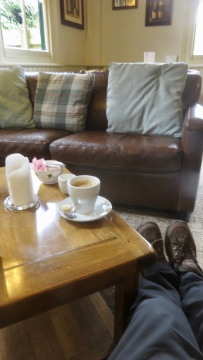 Coffee in The Royal Oak, North Gorley