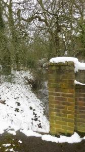 Stream at Leybrook Bridge