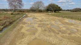 Potholes Whitemoor Pond car park