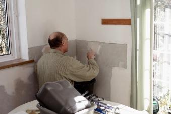 Richard plastering