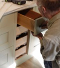 Richard fitting drawer doors