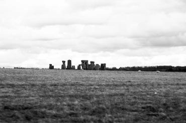 Stonehenge and sheep