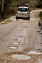 Waterlogged potholes with Modus